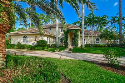 Wellington Single Family Home For Sale: 14813 Draft Horse Lane