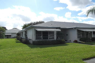 Delray Beach Single Family Home For Sale: 1082 North Drive #A