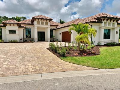 Port Saint Lucie Single Family Home For Sale: 109 SE Via Lago Cervaro