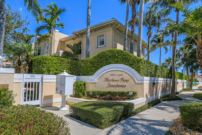 North Palm Beach Townhouse For Sale: 2245 Monet Road