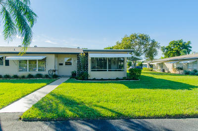 Delray Beach Single Family Home For Sale: 850 High Point Boulevard #D