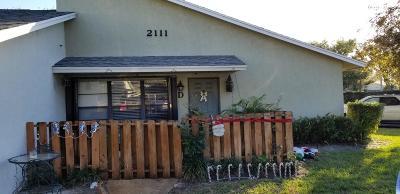 Jupiter Single Family Home For Sale: 431 Jupiter Lakes Boulevard #2111d