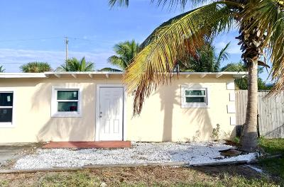 Lake Worth Single Family Home Contingent: 7898 Terrace Road