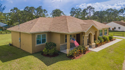 Loxahatchee Single Family Home For Sale: 17410 41st Road