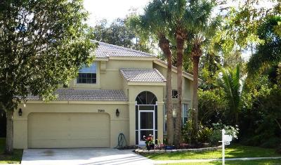 Lake Worth Single Family Home For Sale: 7600 Ridgefield Lane