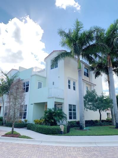 Boca Raton Townhouse For Sale: 4990 NW 15th Avenue
