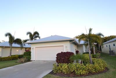 Jupiter Single Family Home For Sale: 17598 Cinquez Park Road E