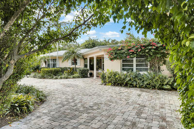 West Palm Beach Single Family Home For Sale: 2411 S Olive Avenue