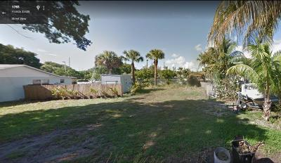 North Palm Beach Residential Lots & Land For Sale: 1834 Wheeler Road
