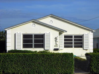 Lake Worth Single Family Home For Sale: 126 S E Street