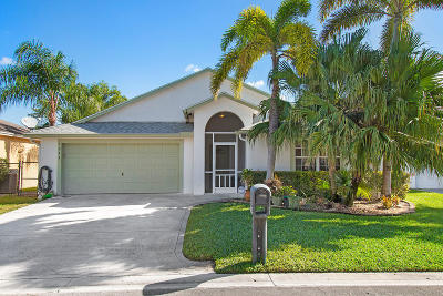 Greenacres Single Family Home For Sale: 1244 Olympic Circle