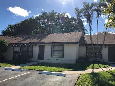 Boynton Beach Rental For Rent: 75 Via De Casas Norte