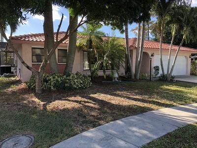 Boca Raton Single Family Home For Sale: 10168 Bergen Court
