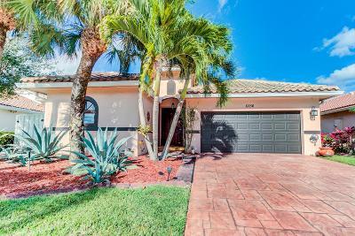 Lake Worth, Lakeworth Single Family Home Contingent: 6356 Grand Cypress Circle
