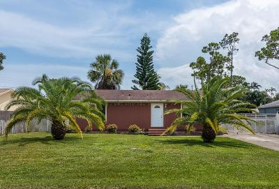 Lake Worth Single Family Home For Sale: 4628 Canal Drive