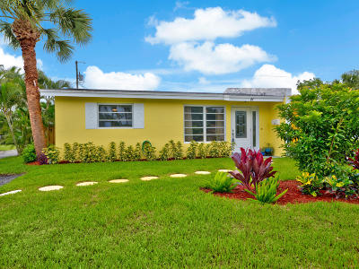 North Palm Beach Single Family Home For Sale: 47 Robalo Court