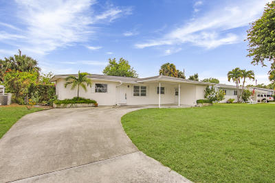 Palm Beach County Single Family Home Contingent: 2416 Wallen Drive