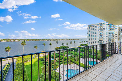 West Palm Beach Condo For Sale: 1701 S Flagler Drive #907