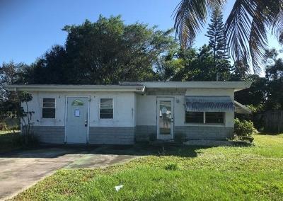 Fort Pierce Single Family Home Contingent: 503 El Rancho Drive