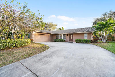 Palm Beach Gardens Single Family Home For Sale: 4424 Althea Way