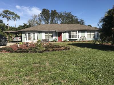 Fort Pierce Single Family Home Contingent: 8602 Fort Pierce Boulevard