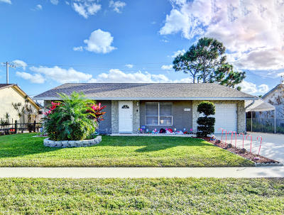 Lake Worth Single Family Home For Sale: 4873 Poseidon Place