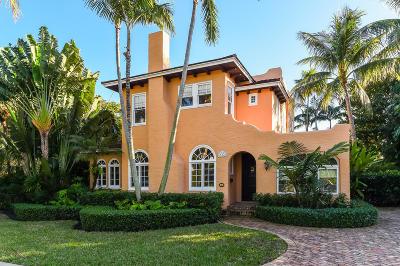 West Palm Beach Single Family Home For Sale: 214 Monroe Drive