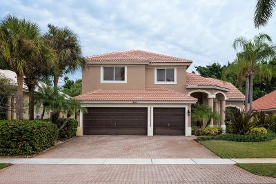 Boca Raton Single Family Home For Sale: 19844 Dinner Key Drive