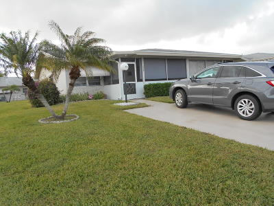 West Palm Beach Single Family Home For Sale: 3393 Rossi Court