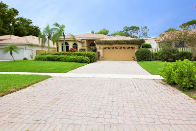 Delray Beach Single Family Home For Sale: 5028 Monterey Lane
