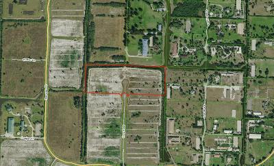 Loxahatchee Residential Lots & Land For Sale: 3550 Frog Hollow