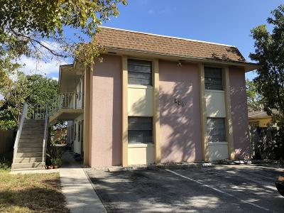Lake Worth Multi Family Home For Sale: 626 S K Street