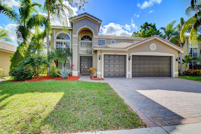 Boca Raton Single Family Home For Sale: 19221 Skyridge Circle