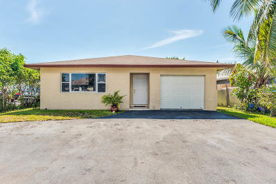 Delray Beach Single Family Home For Sale: 705 SW 6th Avenue