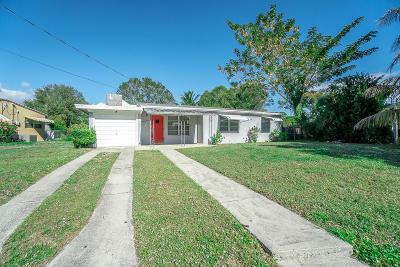 Fort Pierce Single Family Home For Sale: 1606 Zephyr Avenue