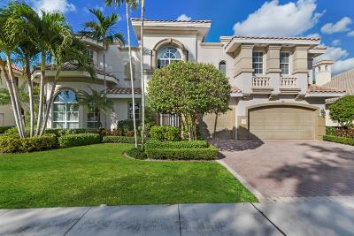 Boca Raton Single Family Home For Sale: 7095 Via Marbella