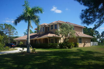 Palm Beach Gardens Single Family Home For Sale: 11790 Stonehaven Way
