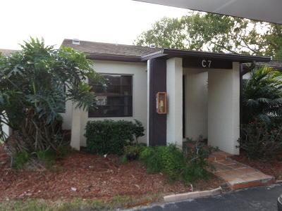 Fort Pierce Condo For Sale: 6008 Indrio Road #7