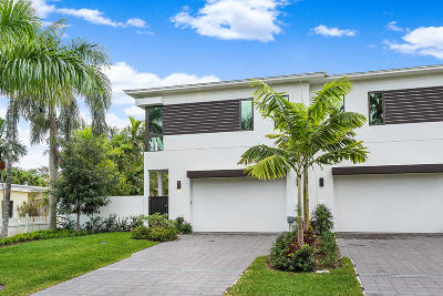 Delray Beach Townhouse For Sale: 906 Bond Way