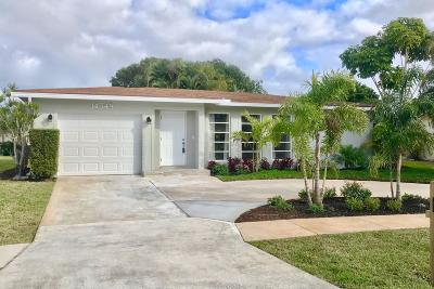 Delray Beach Single Family Home For Sale: 14548 Sunny Waters Lane