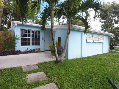 Jupiter Single Family Home For Sale: 5885 Williamson Road