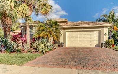 Lake Worth Single Family Home For Sale: 7814 Bonita Villa Bay