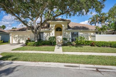 Palm Beach Gardens Single Family Home For Sale: 221 Eagleton Lake Boulevard