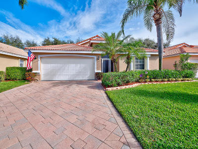Boynton Beach Single Family Home For Sale: 12096 Tevere Drive