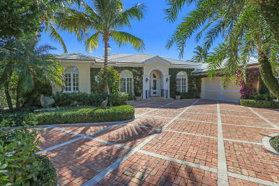 Palm Beach Single Family Home For Sale: 232 Sandpiper Drive