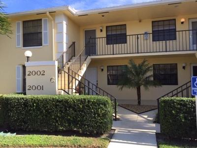 Jupiter Condo For Sale: 2002 Keystone Drive #C