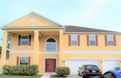 Port Saint Lucie Single Family Home For Sale: 685 NW Bayshore Boulevard