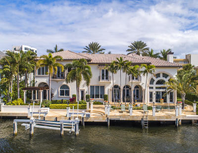 Palm Beach County Single Family Home For Sale: 2640 S Ocean Boulevard
