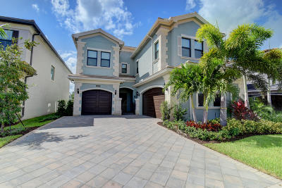 Delray Beach Single Family Home For Sale: 16383 Pantheon Pass