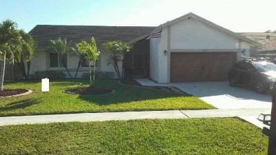 Boca Raton Single Family Home For Sale: 9216 Edgemont Lane